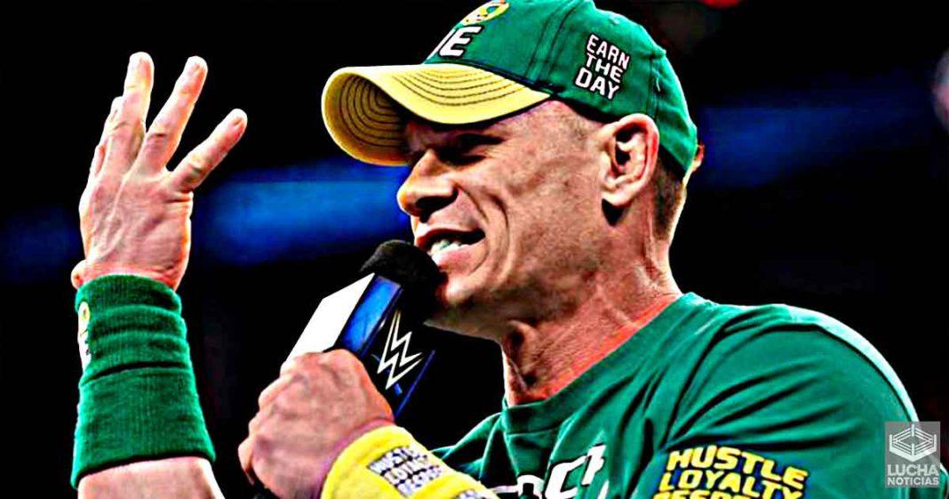 John Cena inició su carrera de luchador como un pasatiempo