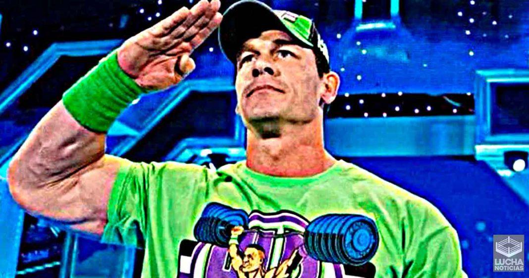 John Cena mirará muy de cerca el regreso de los fans a la WWE