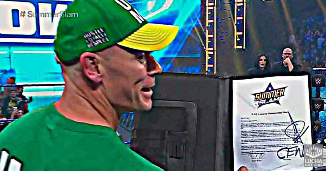 John Cena vs Roman Reigns en SummerSlam es oficial