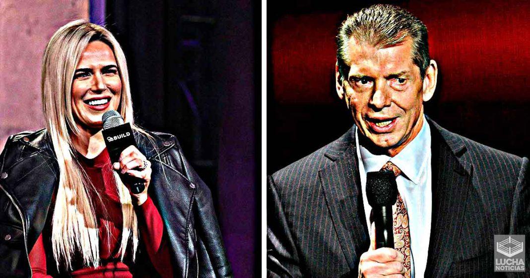 Lana revela lo que le dijo Vince McMahon después de ser despedida