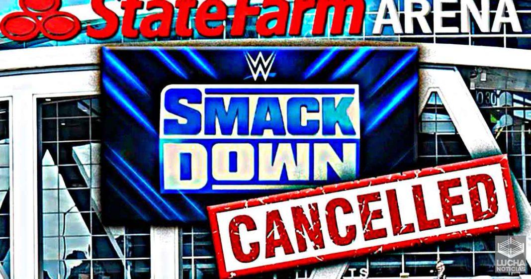 Las grabaciones de WWE SmackDown son canceladas