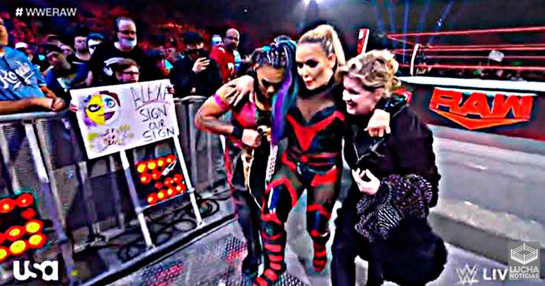 Natalya sufre terrible lesión durante WWE RAW
