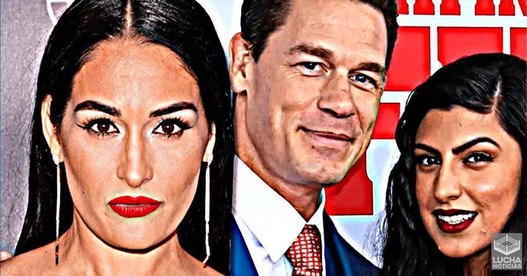 Nikki Bella reaccionA a John Cena diciendo que quiere tener hijos
