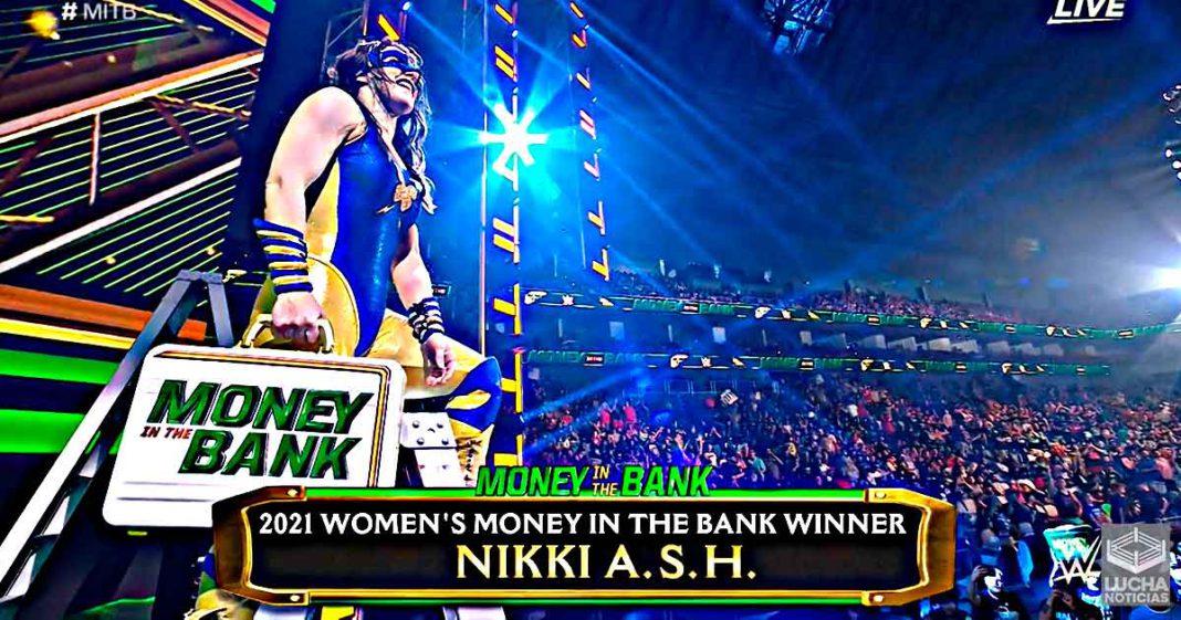 Nikki Cross ASH gana el maletín de WWE Money in the Bank