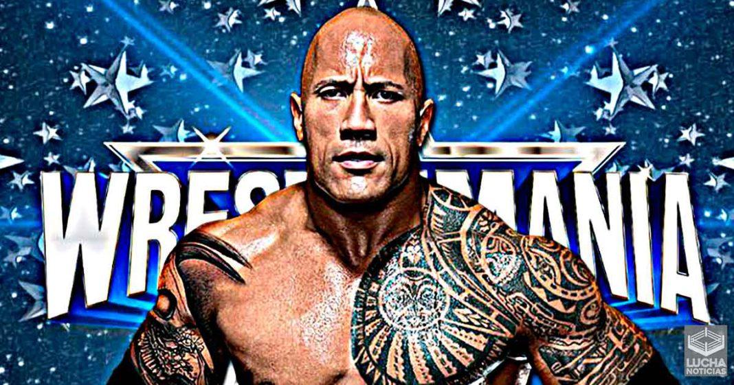 Planes para The Rock en WrestleMania 38 revelados