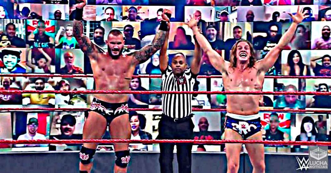 Randy Orton y Matt Riddle hirían por el campeonato de parejas