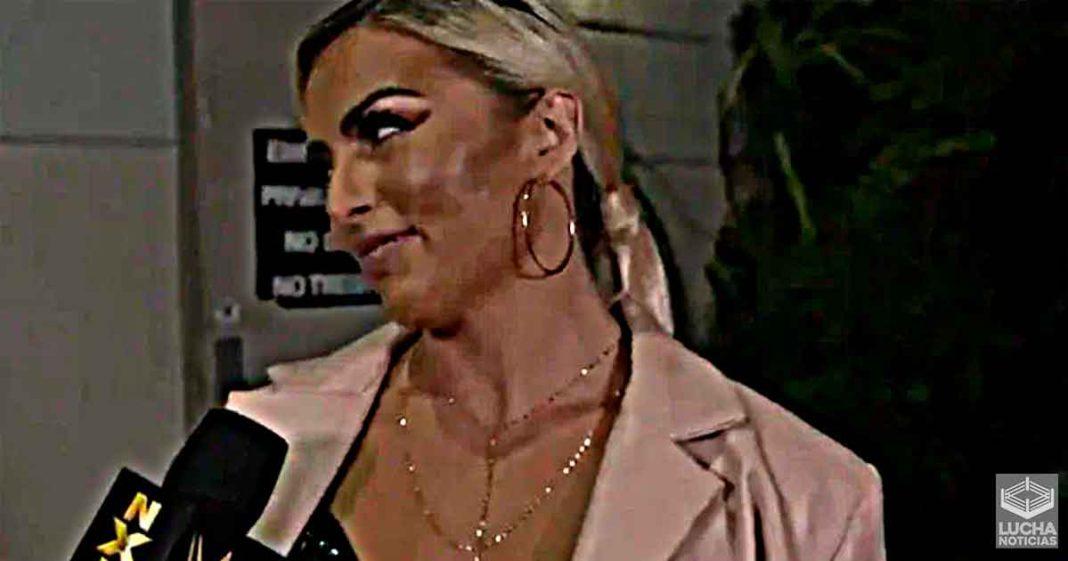 Razón por la cual Mandy Rose regreso a WWE NXT