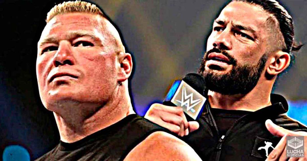 Razón por la cual Roman Reigns mencionó a Brock Lesnar en SmackDown
