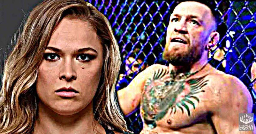 Ronda Rousey asombrada con Conor McGregor trás su derrota en UFC 264