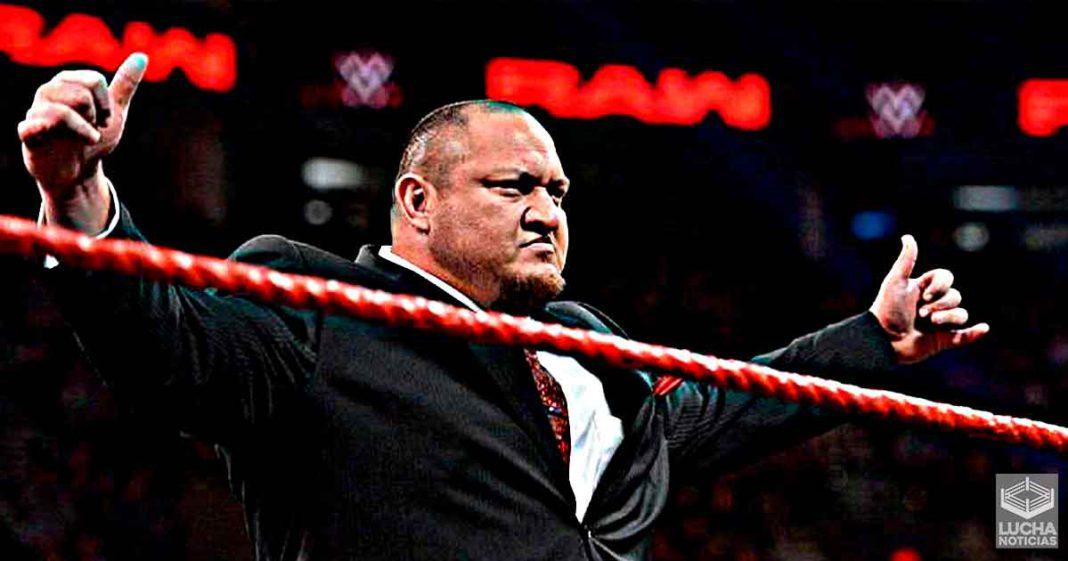 Samoa Joe será el réferi especial para la lucha por el campeonato de NXT