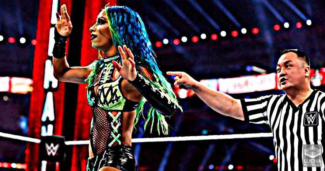 ¿Sasha Banks todavía está en la WWE?