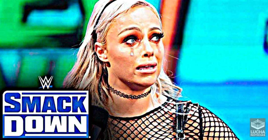 Se burlan de Liv Morgan por llorar en su promo de SmackDown