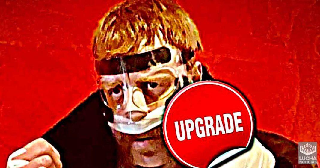 Sheamus muestra su nuevo máscara antes de WWE RAW