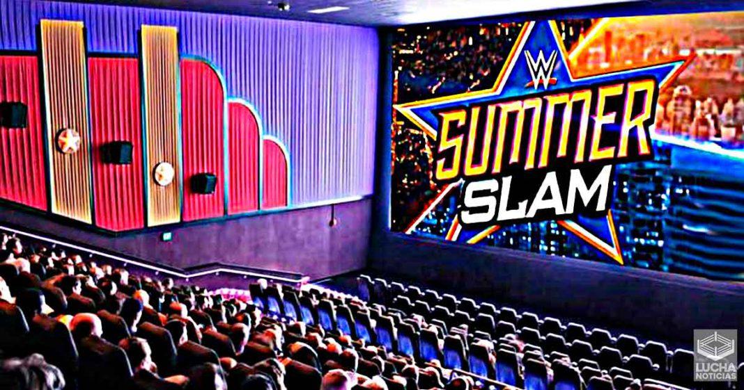 SummerSlam será transmitido en Salas de Cine