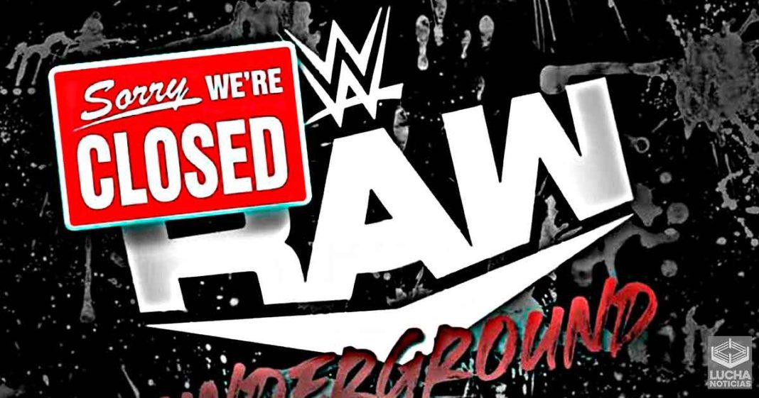Superestrella despedida de WWE revela por qué se canceló RAW Underground