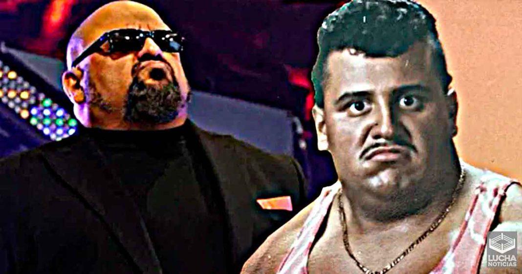 Taz revela su primera foto como luchador de los años 80