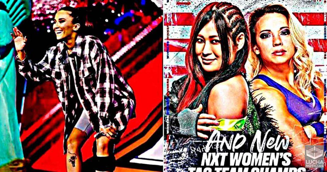 Tegan Nox regresa a NXT - Demuestra ser un factor decisivo en la lucha por el título