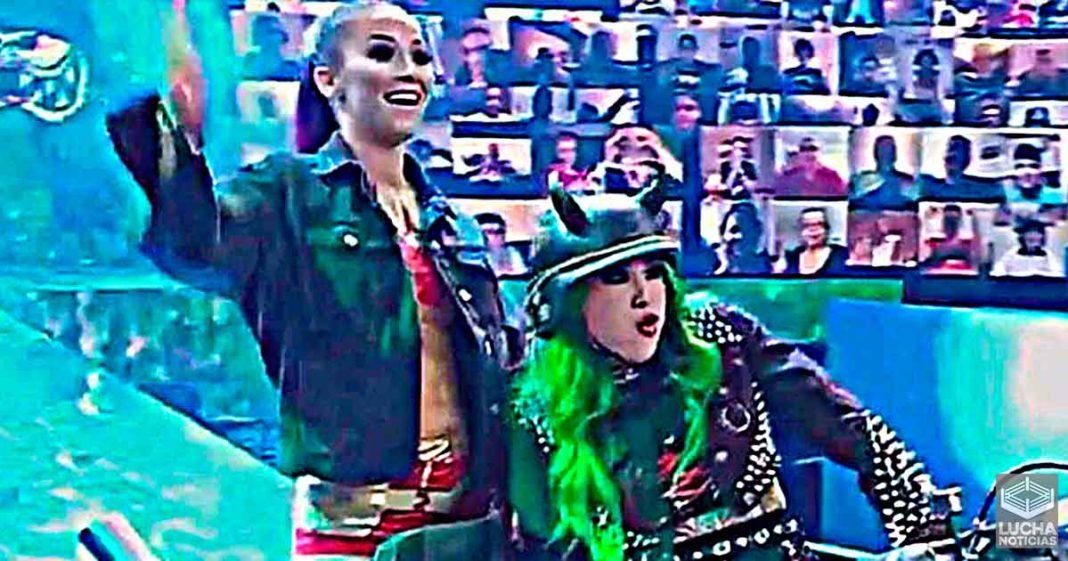 Tegan Nox y Shotzi BlackHeart hacen su debut en WWE SmackDown