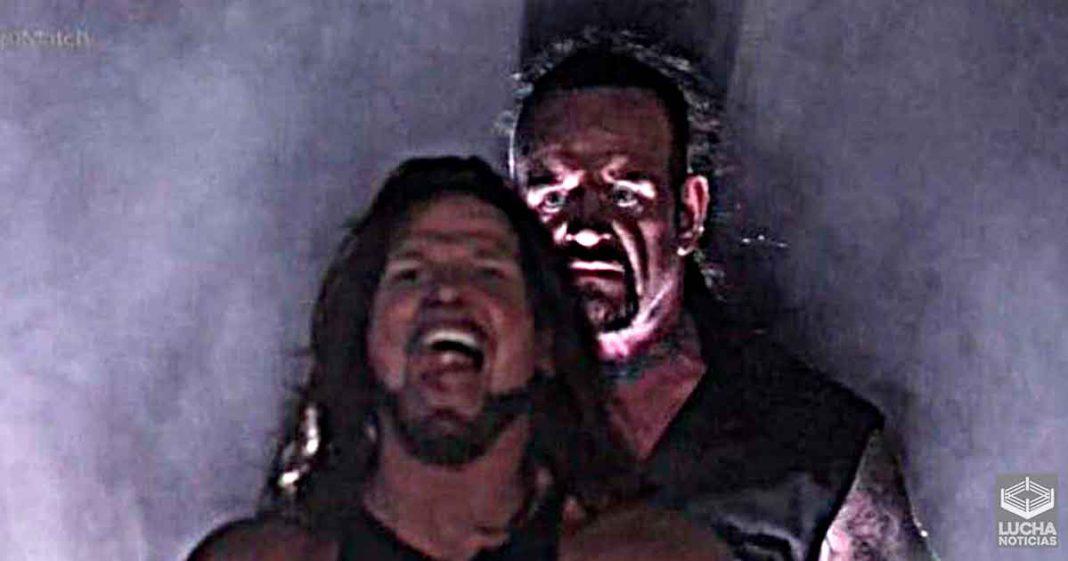 Undertaker envió increible regalo a AJ Styles trás luchar con él en WrestleMania 36