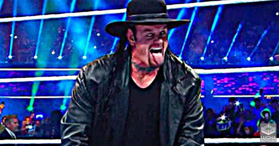 Undertaker estuvo en el backstage de WWE RAW esta semana