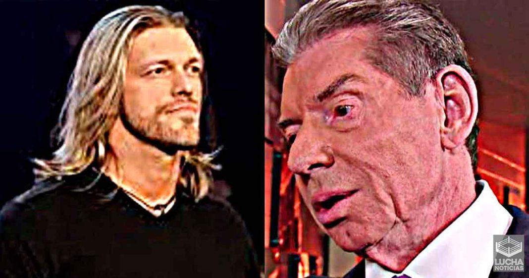 Vince McMahon quería que Edge se afeite la cabeza