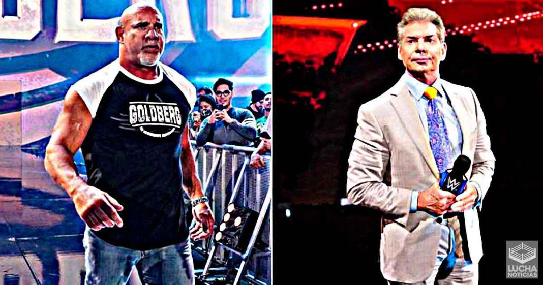 Vince McMahon sigue trayendo de vuelta a Goldberg por esta razón