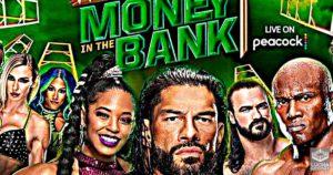 WWE Money In The Bank 2021, Cartel completo y Horarios