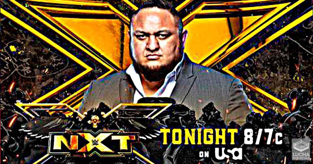 WWE NXT en vivo, Cobertura y Resultados 20 de julio