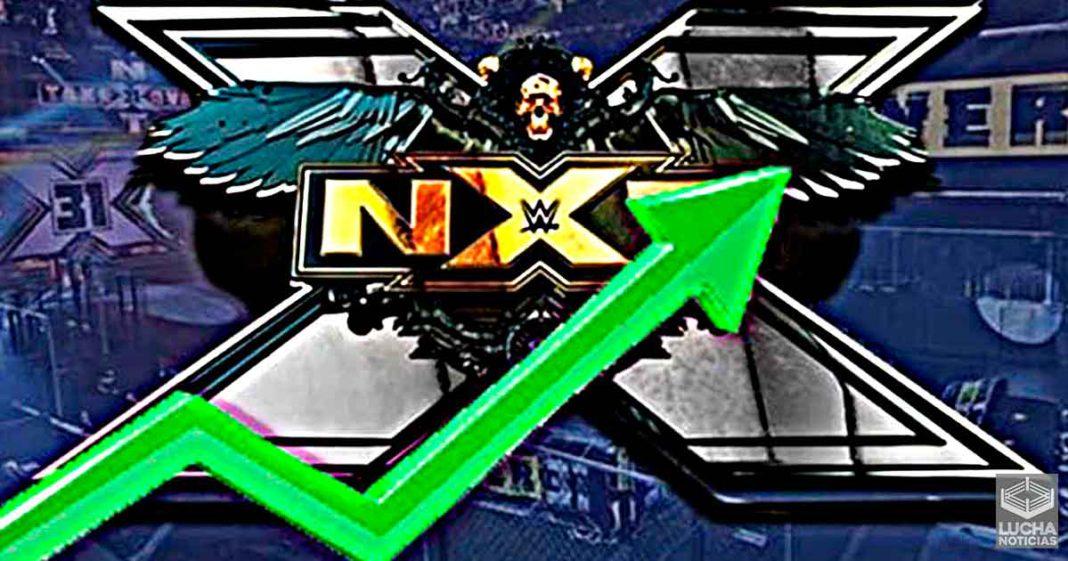 WWE NXT ve un aumento en sus ratings esta semana