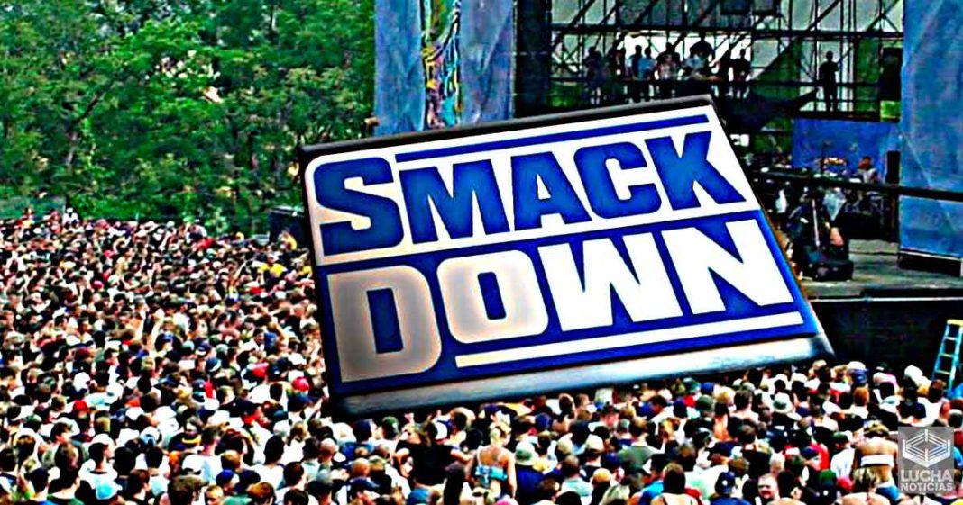 WWE anuncia un programa de SmackDown para festival musical