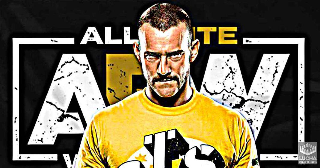 WWE cree que CM Punk se irá a AEW