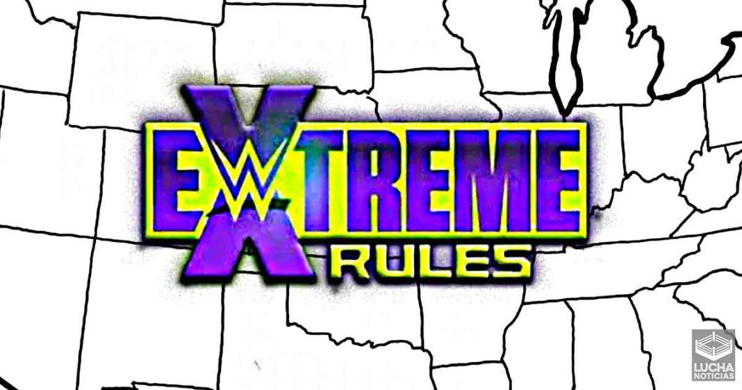 WWE fecha y lugar de Extreme Rules 2021