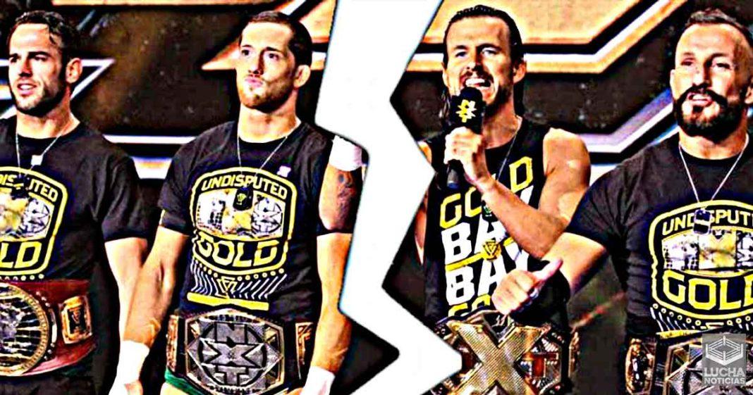 WWE separando a Undisputed Era fue una desición repentina