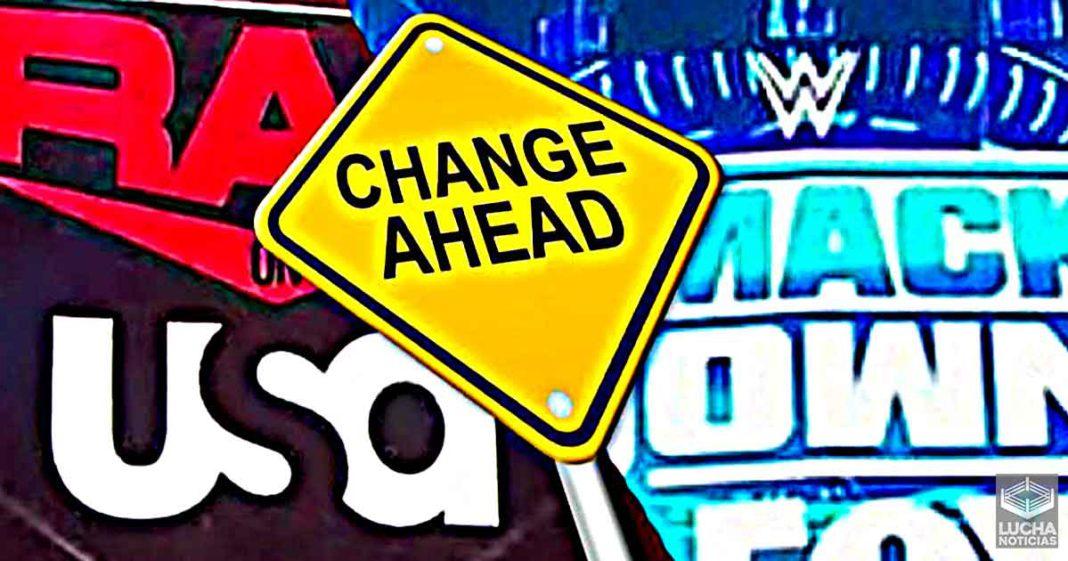 WWE tiene planes para nuevas escenografias para RAW y SmackDown