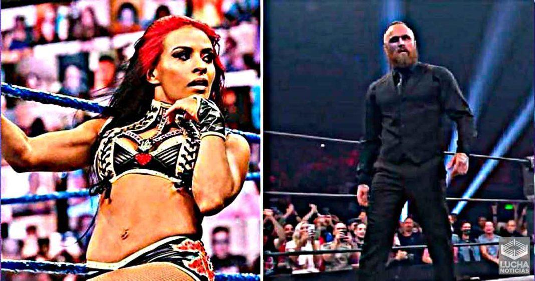 Zelina Vega reacciona al debut de Aleister Black en AEW