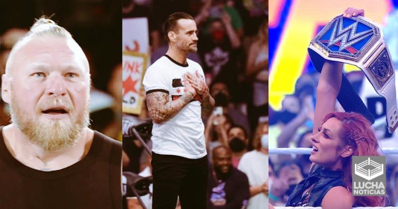 WWE responda a AEW y CM Punk
