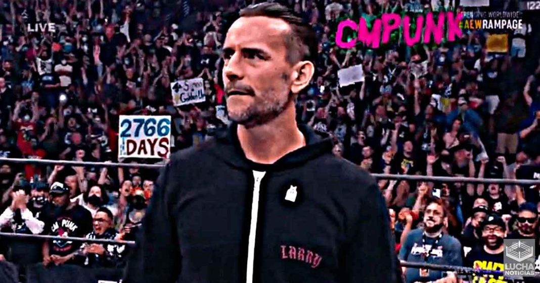 AEW Rampage consigue 1.129 millones de espectadores con el regreso de CM Punk