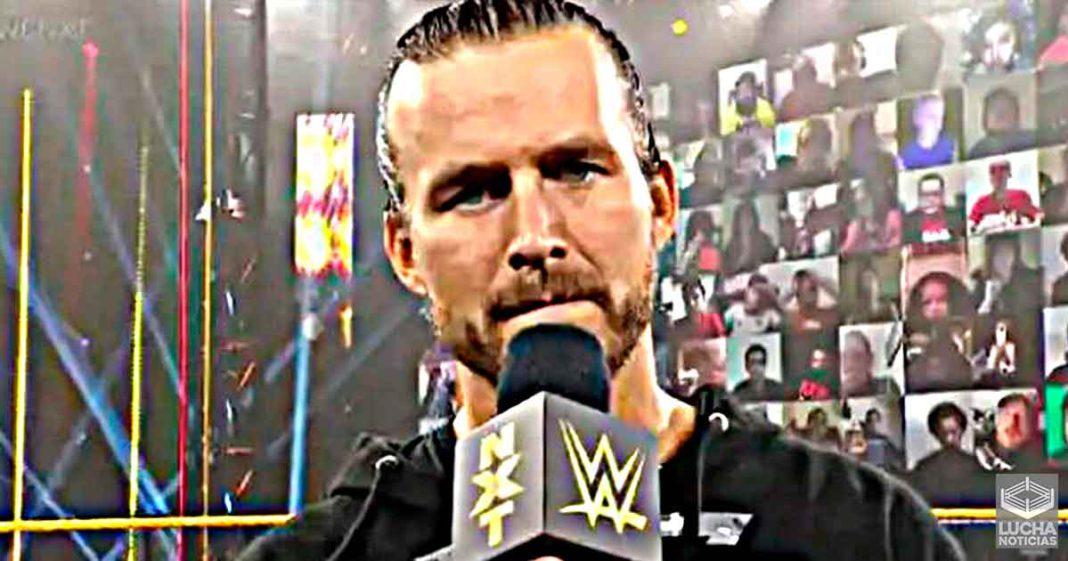 Adam Cole tiene que elegir entre WWE y AEW pronto