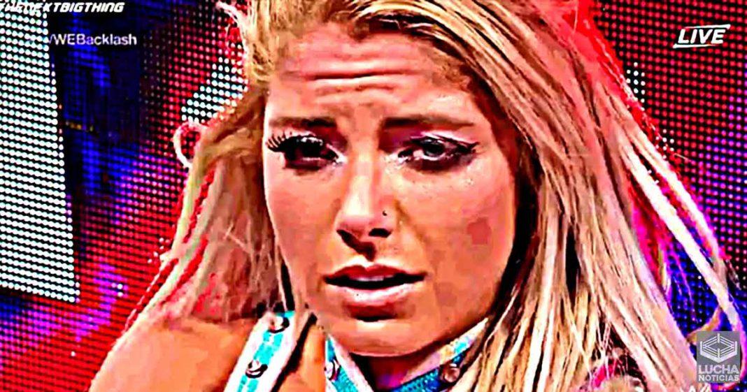 Alexa Bliss podría haber solicitado su salida de la WWE