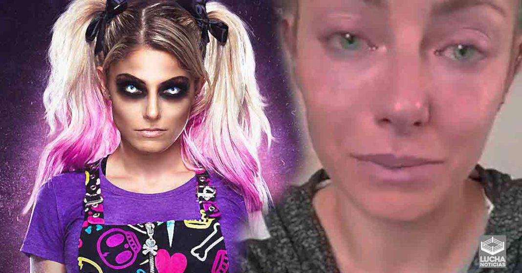 Algo malo pasa con Alexa Bliss en WWE