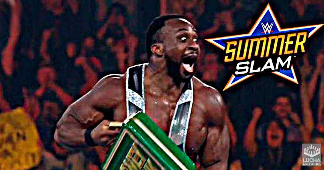 Big E canjeará su maletín ante Roman Reigns o John Cena en SummerSlam