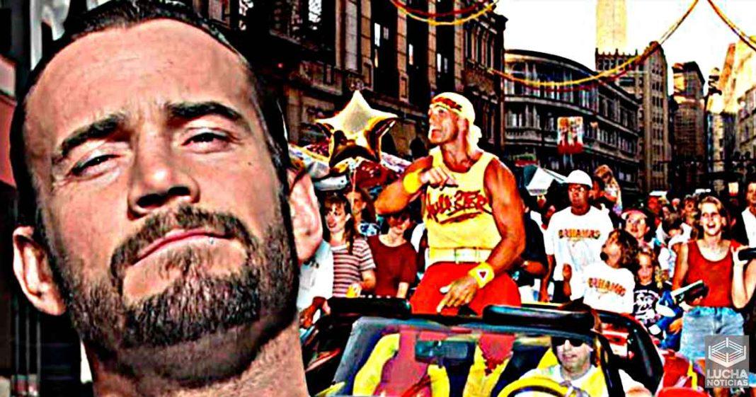 Big Show compara el debut de CM Punk en AEW con la llegada de Hogan a WCW