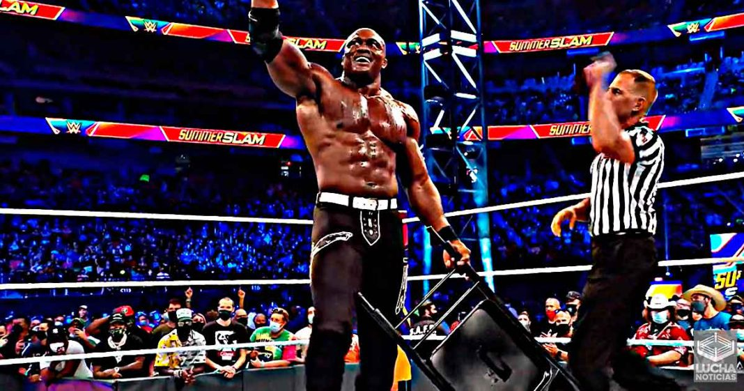 Bobby Lashley vence a Goldberg y sigue siendo campeón de la WWE en SummerSlam