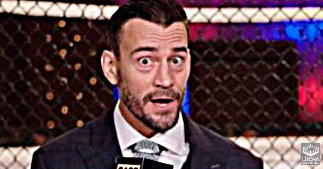 CM Punk insinua su llegada a AEW