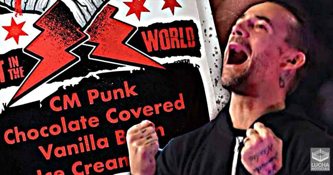 CM Punk revela donde se inspiró para regalar paletas a los fans de AEW