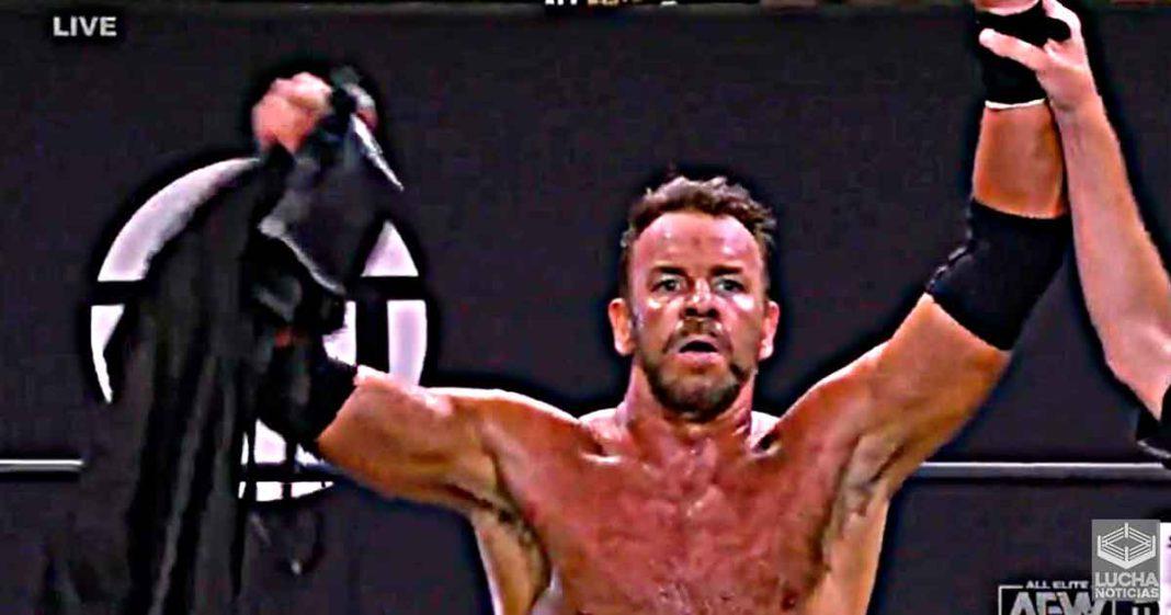 Christian es el oponente número uno al campeonato de Kenny Omega
