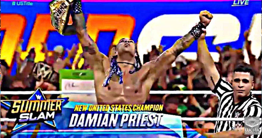 Damian Priest es el nuevo Campeón de los Estados Unidos en WWE SummerSlam