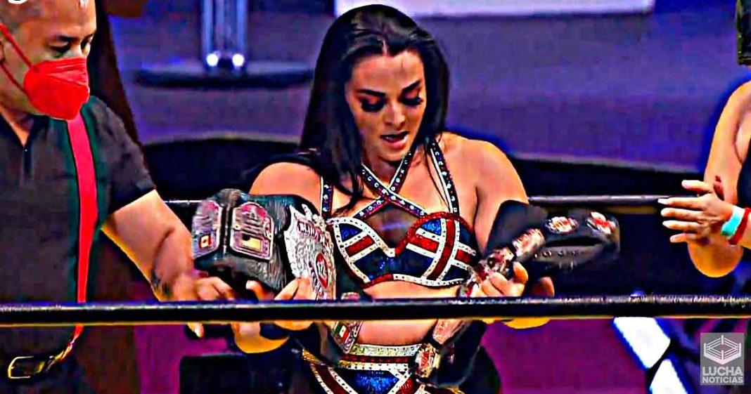 Deonna Purrazzo vence a Faby Apache y es doble campeona en TripleMania XXIX