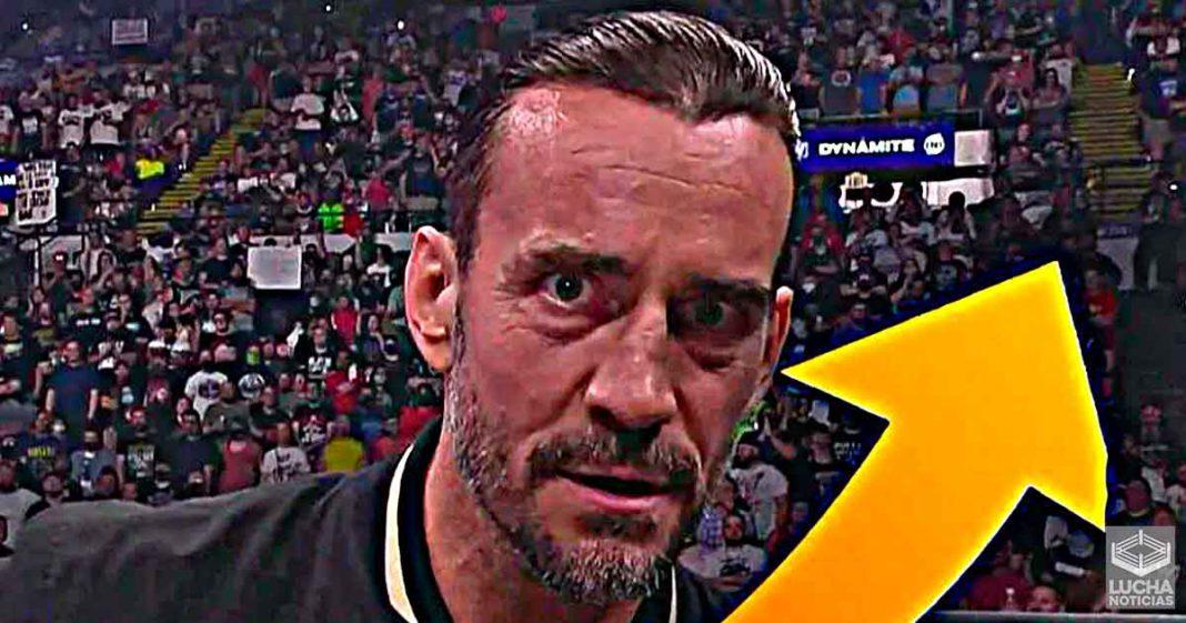 El debut de CM Punk en AEW Dynamite atrajo 1.1 millón de espectadores