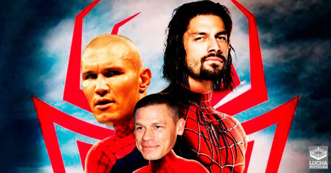 ¿En el multiverso de Spiderman está incluída la WWE?